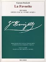 DONIZETTI - La Favorita para Canto y Piano