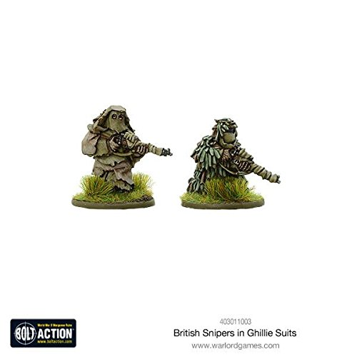 Warlord Games , British Snipers In Ghillie Suits、ボルトアクションWargamingミニチュア