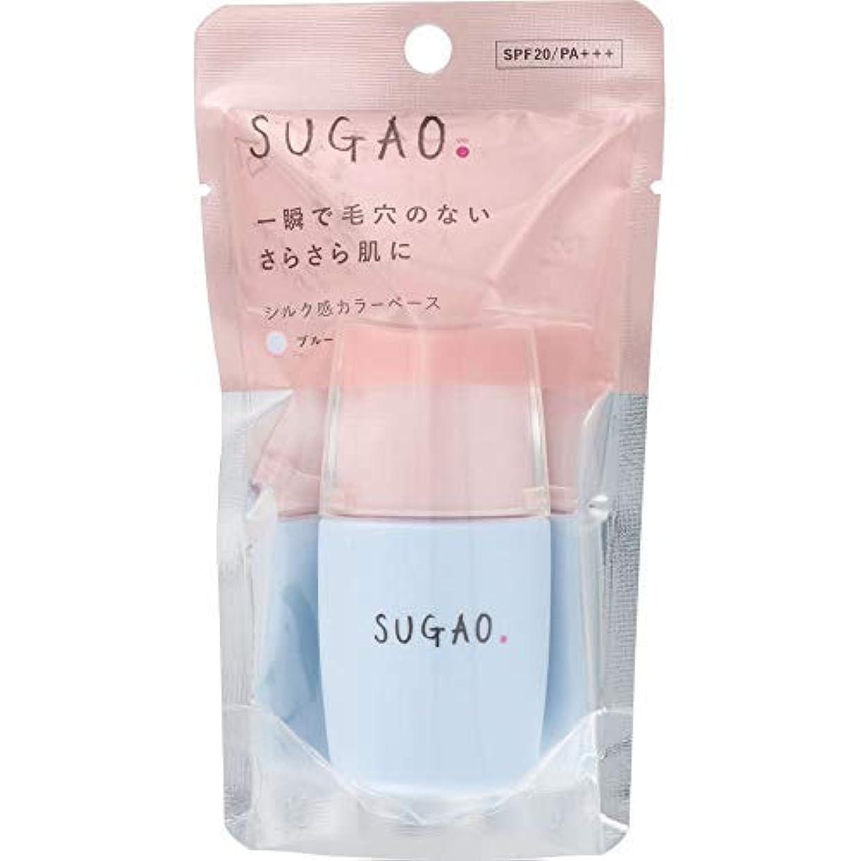 道に迷いました作るせっかちSUGAO シルク感カラーベース ブルー × 2個セット
