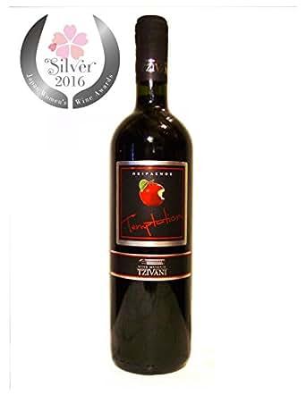 ツィヴァニ ビオワイン 【テンプテーション メルロー2008】 【 ギリシャ / 赤ワイン / オーガニック】 750ml 【サクラ・アワード2016 銀賞受賞】