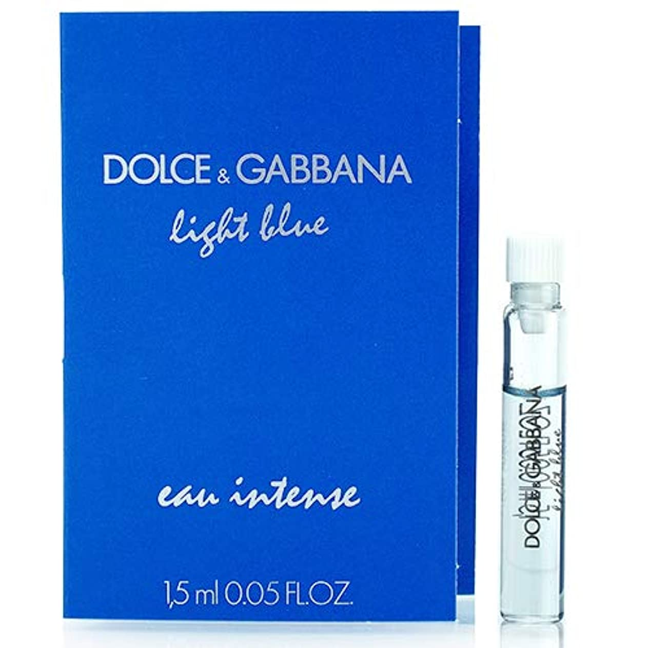 予防接種移植無声でドルチェ&ガッバーナ D&G ライトブルー オーインテンス オードパルファム EDP スプレー 1.5ml ミニ香水 サンプル 香水 DOLCE GABBANA [並行輸入品]