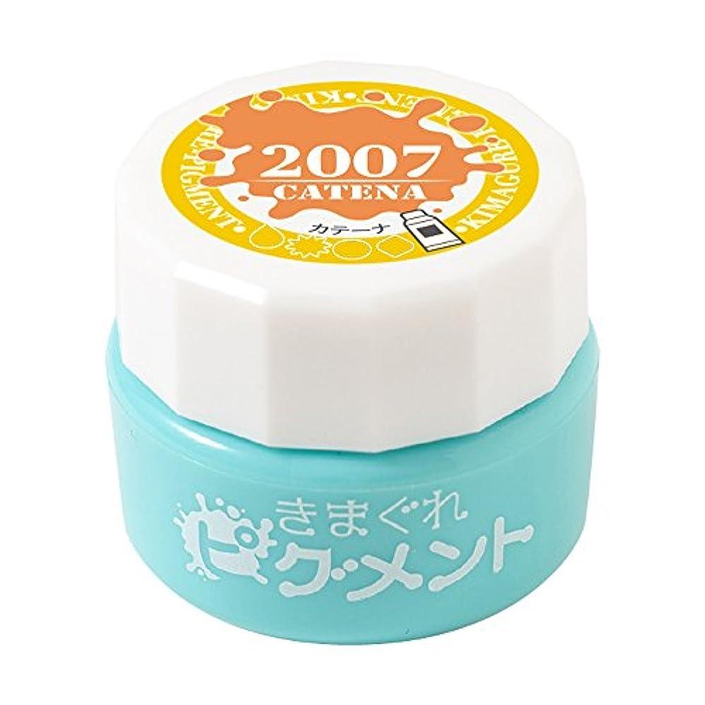 貞カップル悪党Bettygel きまぐれピグメント カテーナ QYJ-2007 4g UV/LED対応
