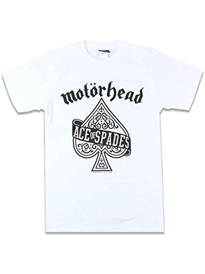 メダルネーピア同時【ノーブランド品】バンドTシャツ ロックTシャツ Motorhead モーターヘッド ACE OF SPADES