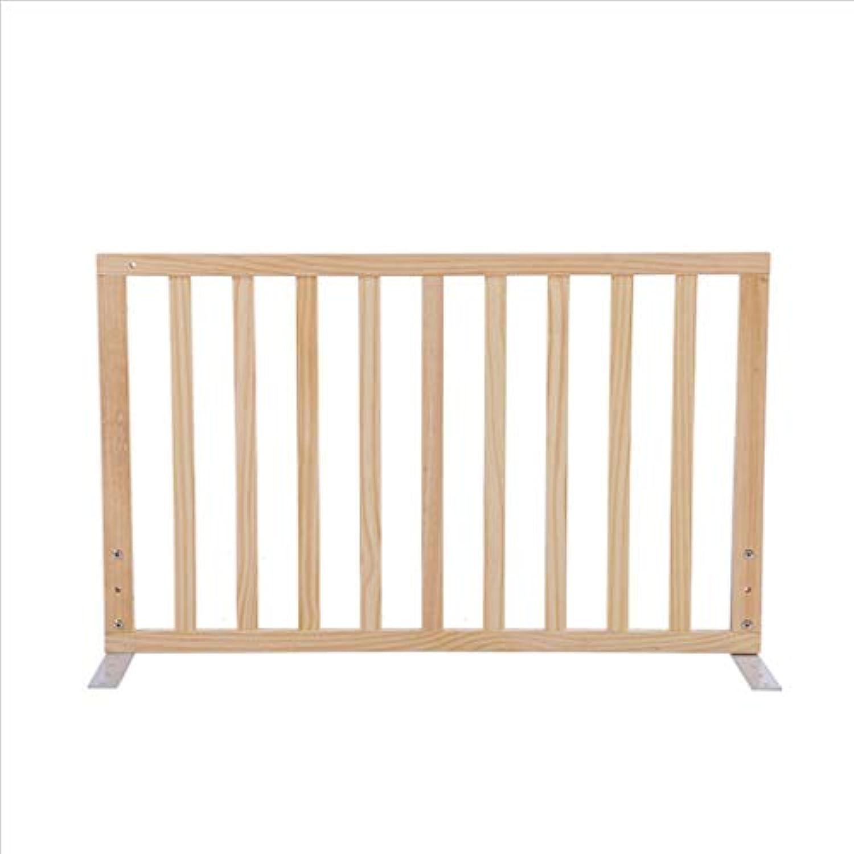 PENGJUN ソリッドウッドベッドガードレール子供のガードレールベッドバッフルサイズフリーの組み合わせ (サイズ さいず : 104CM)