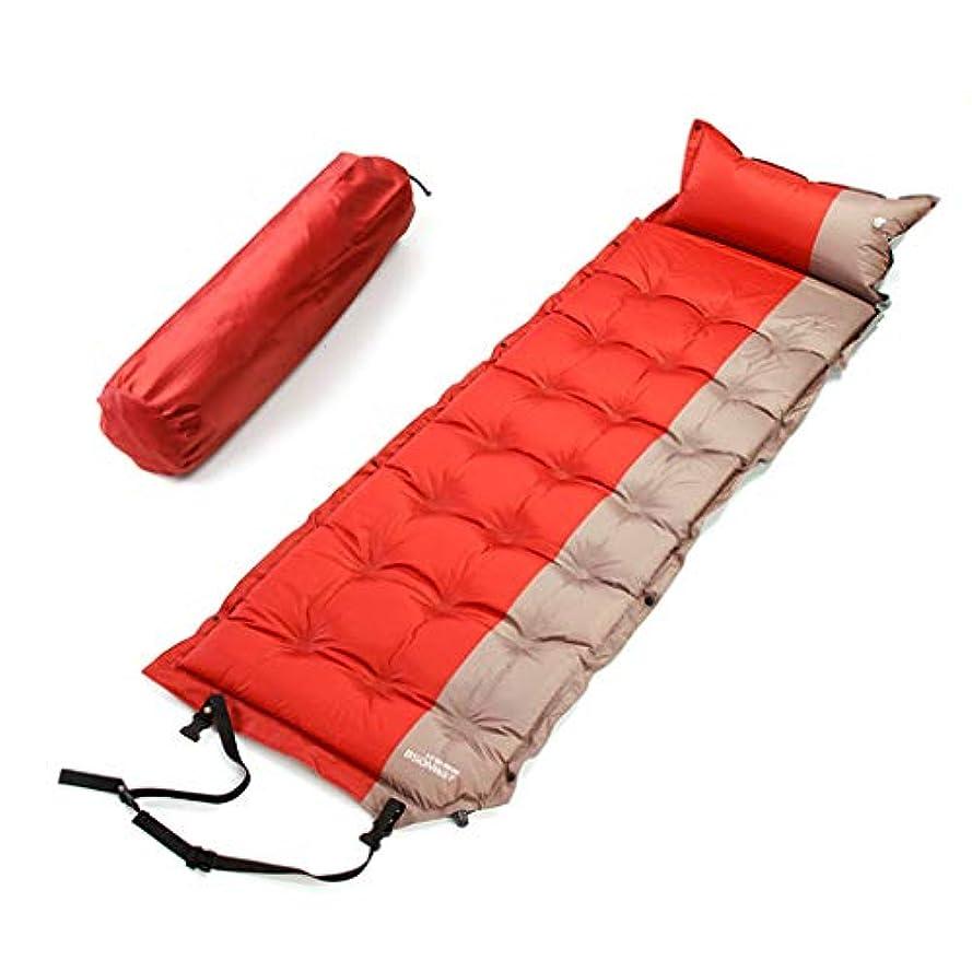 リビングルームモードリン海港屋外の睡眠のマットの枕が付いている膨脹可能な睡眠パッド、キャンプのための防水キャンプのマットレス走行のバックパッキング