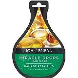 [John Frieda ] ジョン?フリーダ奇跡が損傷修復のために25ミリリットル低下します - John Frieda Miracle Drops for Damage Repair 25ml [並行輸入品]