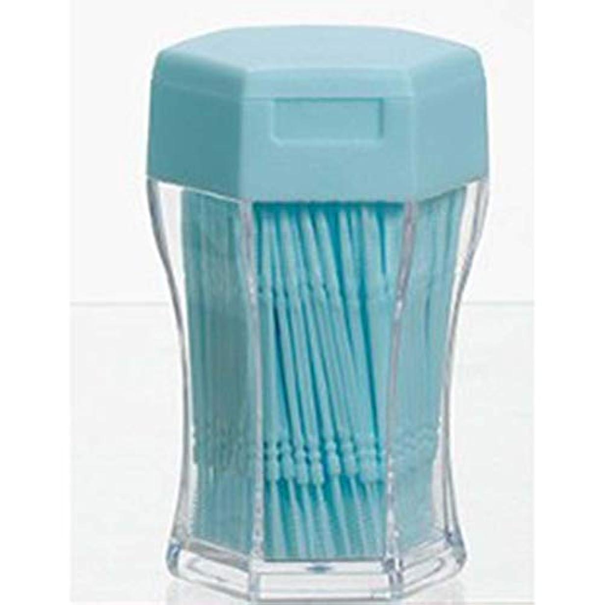増幅器自治看板200ピース/セットダブルヘッド歯フロス衛生デンタルフロスプラスチック歯間つまようじ健康用歯のクリーニングオーラルケア