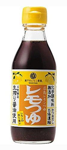 広島レモンつゆ〜 化学調味料無添加 200ml×6本