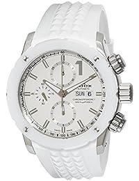 [エドックス]EDOX 腕時計 クロノオフショア1 自動巻きクロノグラフ 01122-3B1-BIN1-S メンズ 【正規輸入品】