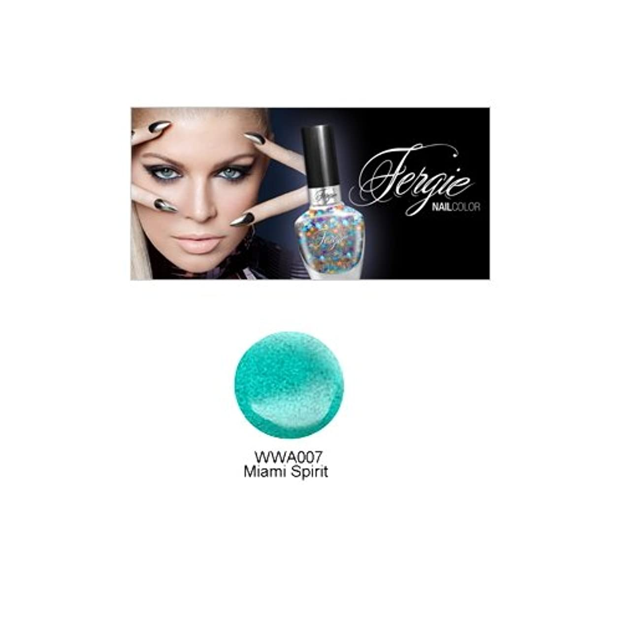 私黒人損なうWet N Wild FERGIE NAIL COLOR - Miami Spirit (並行輸入品)