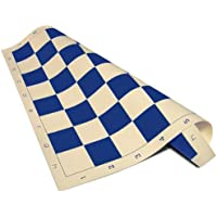 ChessCentral Vinyl Blue and Buff Chess Board, 20 x 20-Inch with 2.25-Inch Squares [並行輸入品]