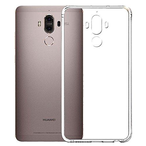 MEIKO Huawei Mate 9 ケース クリア シリコン ケース 高品質 完璧 フィット