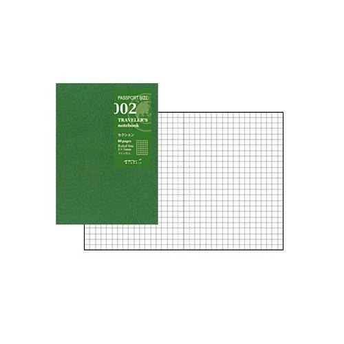 トラベラーズノート パスポートサイズ リフィル【セクション】 14314-006