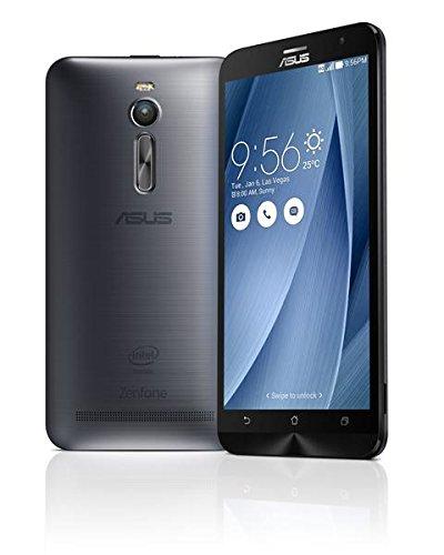 【国内正規品】ASUSTek ZenFone2 ( SIMフリー / Android5.0 / 5.5型ワイド / デュアルmicroSIM / LTE ) (グレー, 4GB/32GB) ZE551ML-GY32S4
