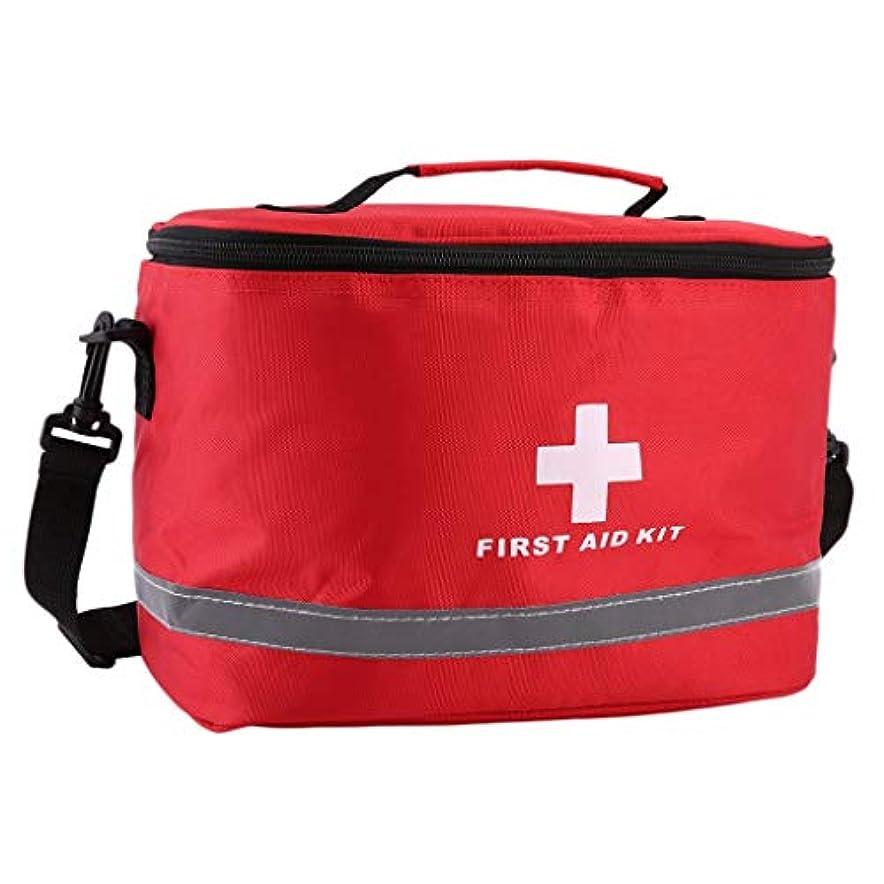 JJJJD 緊急サバイバルバッグミニ家族応急処置キット、スポーツトラベルキットホーム医療バッグ、屋外車の応急処置バッグ