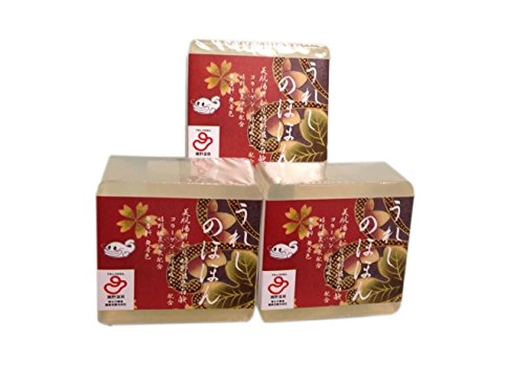 産地軽くロマンス嬉野温泉(spa-ureshino) うれしのほほん 石鹸セット 3個セット