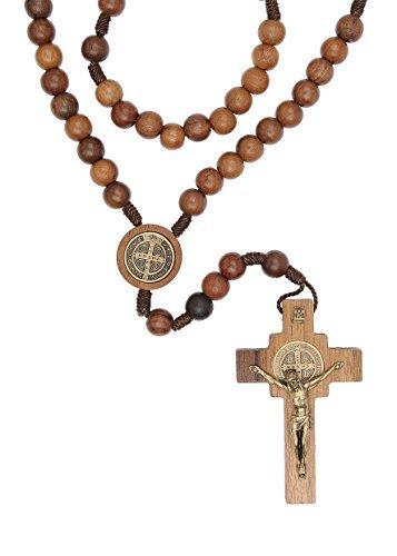 Intercession 聖ベネディクトゥス メンズ 祈祷用 ロザリオネックレス