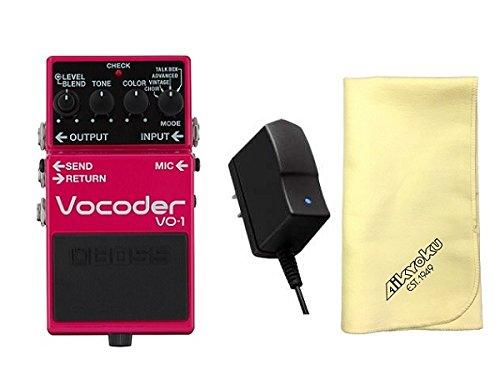 【愛曲クロス付】【純正ACアダプター/PSA-100S2付】BOSS ボス VO-1 Vocoder ボコーダー ギターとベースに新たな表現力を