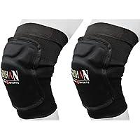 SMMA膝パッドGelパッドMMA、レスリング、krav-maga、柔道Ju級samba1ペアSenior MMA Martial Arts膝パッドサポートラップWrestlingバレーボールプロテクター