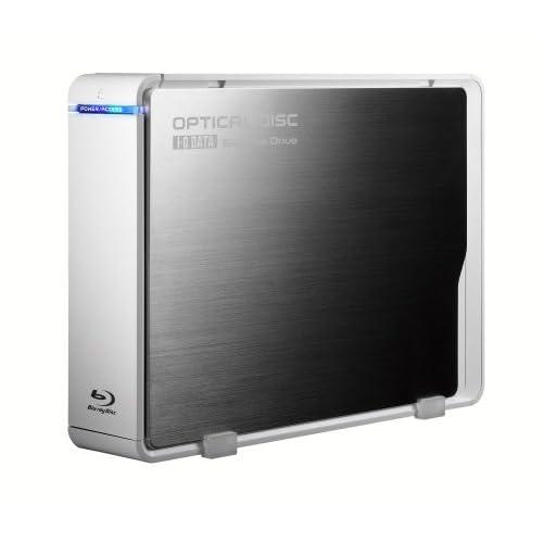 I-O DATA USB 2.0 Blu-ray Discドライブ(BD-R最大8倍速ライト) BRD-UH8