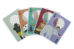 Zoo Playing Cards LOA041-GR