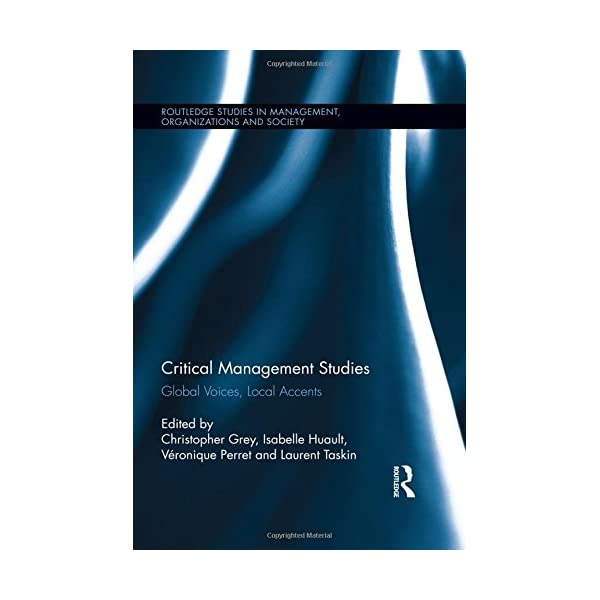 Critical Management Stud...の商品画像