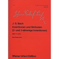 バッハ:インヴェンションとシンフォニア ウィーン原典版 42の商品写真