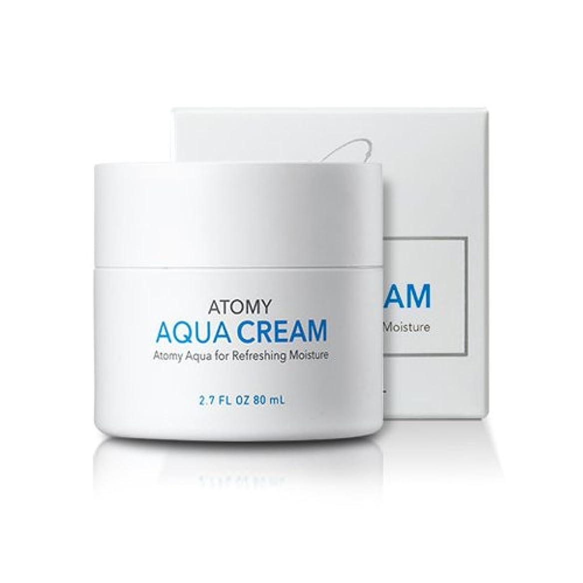 十分ですありがたい悪化する[atomy] アクア水分クリーム aqua cream 80ml [並行輸入品]