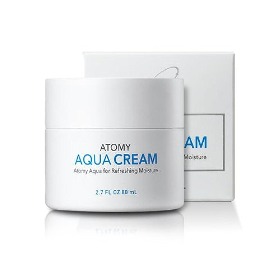 誠意泳ぐ実施する[atomy] アクア水分クリーム aqua cream 80ml [並行輸入品]