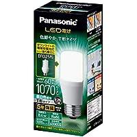 パナソニック LED電球 口金直径26mm 電球60W形相当 昼白色相当(8.4W) 一般電球・T形タイプ 密閉器具対応 LDT8NGST6