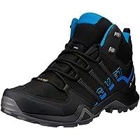 adidas Men's Terrex Swift R2 Mid GTX Hikings Boots, Core Black/Core Black/Bright Blue