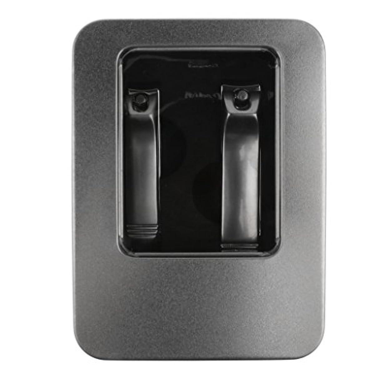 薄い感動する犯すToygogo セット2ピース/個ステンレスネイルクリッパーツールキット爪&爪カッターケース付き