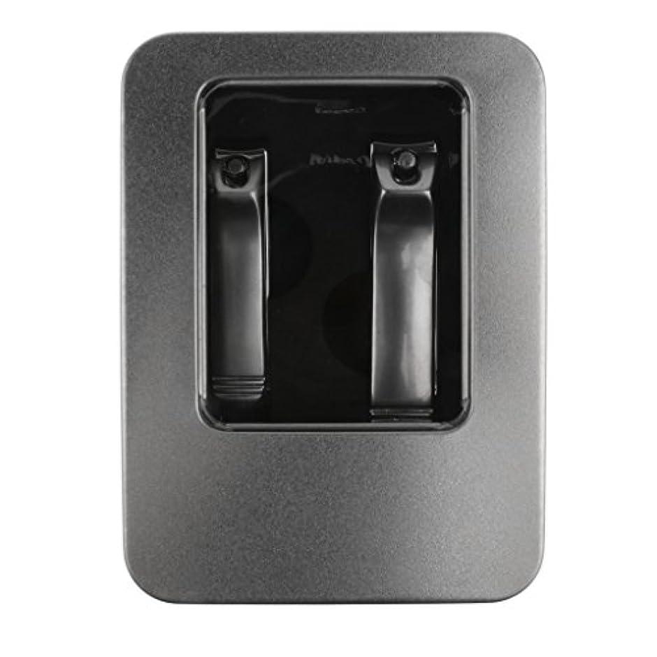関係出費置き場DYNWAVE 2本のステンレス鋼のネイルカッタートリマーマニキュアペディキュアケアはさみ+ボックス