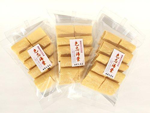 色志湯葉(10個入り)/3袋セット
