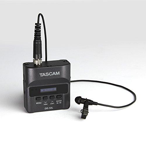 TASCAM  タスカム / ピンマイクレコーダー/DR-10L 黒