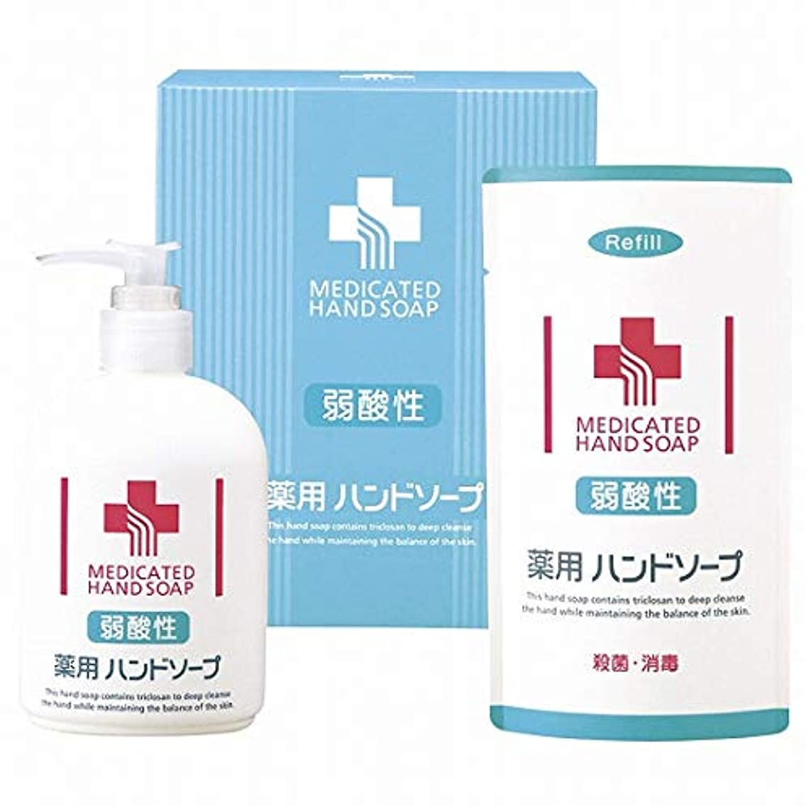 東ティモール疾患保守的弱酸性 薬用ハンドソープセット