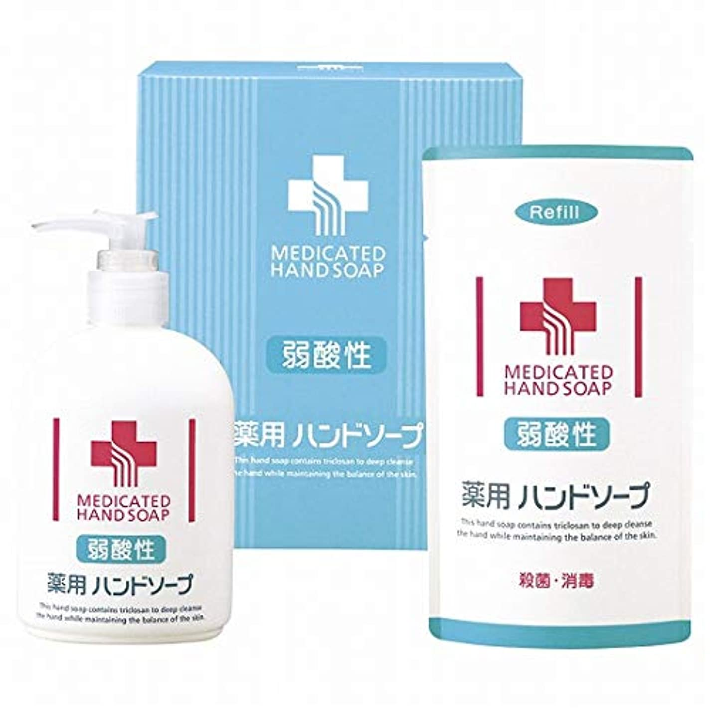 コントロールフェローシップスリチンモイ弱酸性 薬用ハンドソープセット