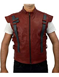 F/&H Kids Synthetic Leather Guardians of The Galaxy Chris Pratt Star Lord Peter Quill Vest