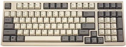 LEOPOLD静電容量無接点スイッチ採用コンパクトフルキーボード ワイヤーキープラー付 英語ASCII配列98キー ホワイト FC980C/EWWP