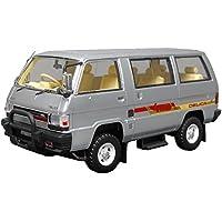 Hi Story 1/43 ミツビシ デリカ スター ワゴン 4WD GLX エクシード 1985 アイガーシルバー 完成品