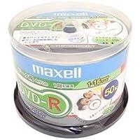 DR47DPNW50SP | マクセル データ用DVD-R 4.7GB 50枚16倍速 ホワイトプリンタブル maxell [PC]