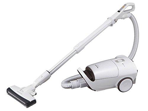 パナソニック Jコンセプト 紙パック式掃除機 ハウスダスト発見センサー搭載 ホワイト MC-JP520G-W
