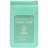 [ジヌ]JINUパスケース定期入れカードケースホルダー男女兼用携帯取付けネックストラップIDケース Flip Necklace Card Holder海外直送品