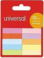 """ユニバーサル99026self-stickページタブ、1/2"""" x 2"""" Assorted Colors, 500/パック"""