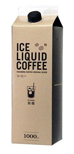 キャプテン キャプテン アイスコーヒー無糖 1000ml