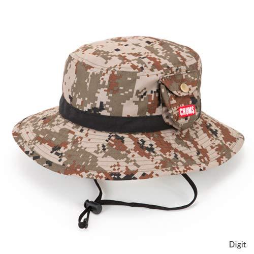 37097fc1c4080 CHUMS(チャムス) CH25-1000 Kids Fes Hat キッズフェスハット/Digital Camo 人気のフェスハットがキッズサイズで新登場です。ドローコード付きなので風が強い日でも  ...