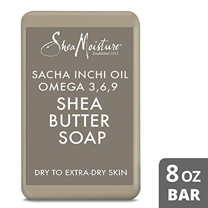 ペルセウスフォアタイプリラックスShea Moisture U-BB-2718 Sacha Inchi Oil Omega-3-6-9 Rescue Shea Butter Soap - Dry to Extra-Dry Skin for Unisex...