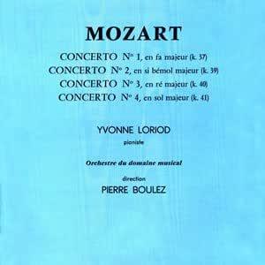 Piano Concertos No.1-4: Loriod / Boulez
