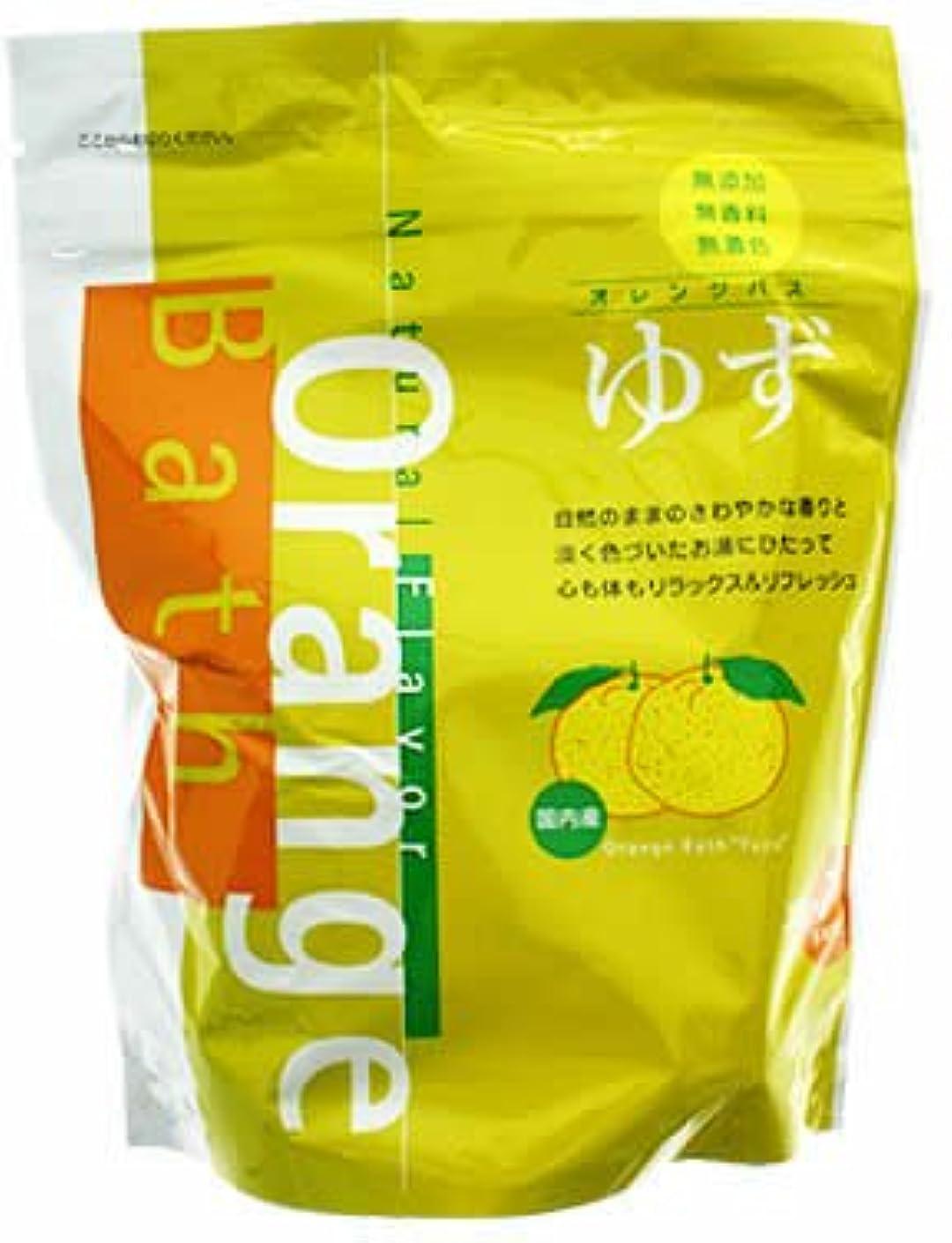 状況国旗空オレンジバス ゆずのお風呂 30g×7パック(入浴剤)