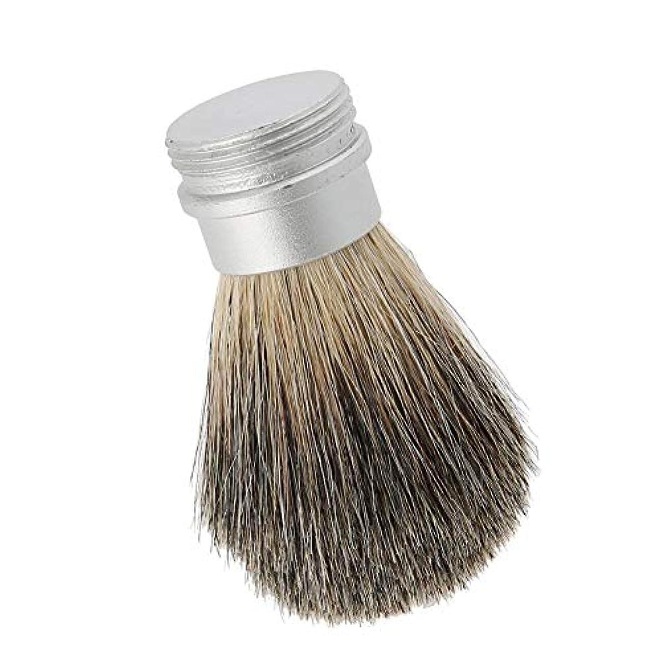 光沢チャーミング推測ひげブラシひげ剃りツールポータブルひげブラシ男性のための最高のヘアブラシ口ひげブラシ